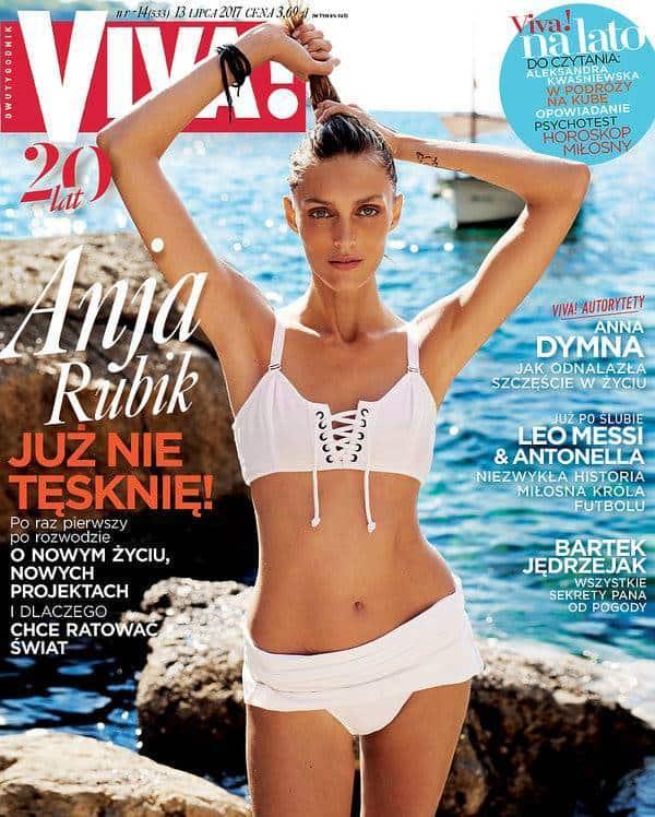 Anja Rubik w sesji dla magazynu VIVA fot. Mateusz Stankiewicz