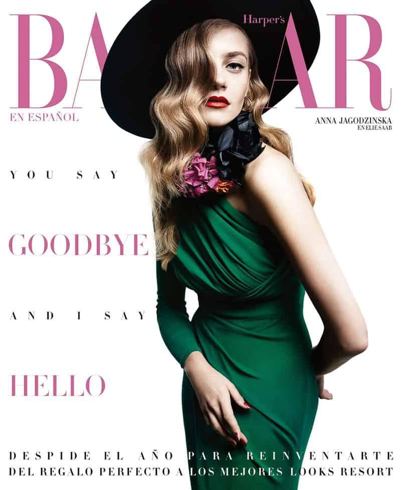 Anna Jagodzinska Bazaar Mexico Hat-Style COVER