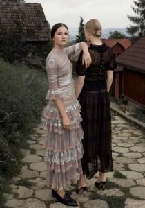 Harper's Bazaar Poland February 2017 Maja Salamon and Julia Modzelewska by Agata Pospieszynska
