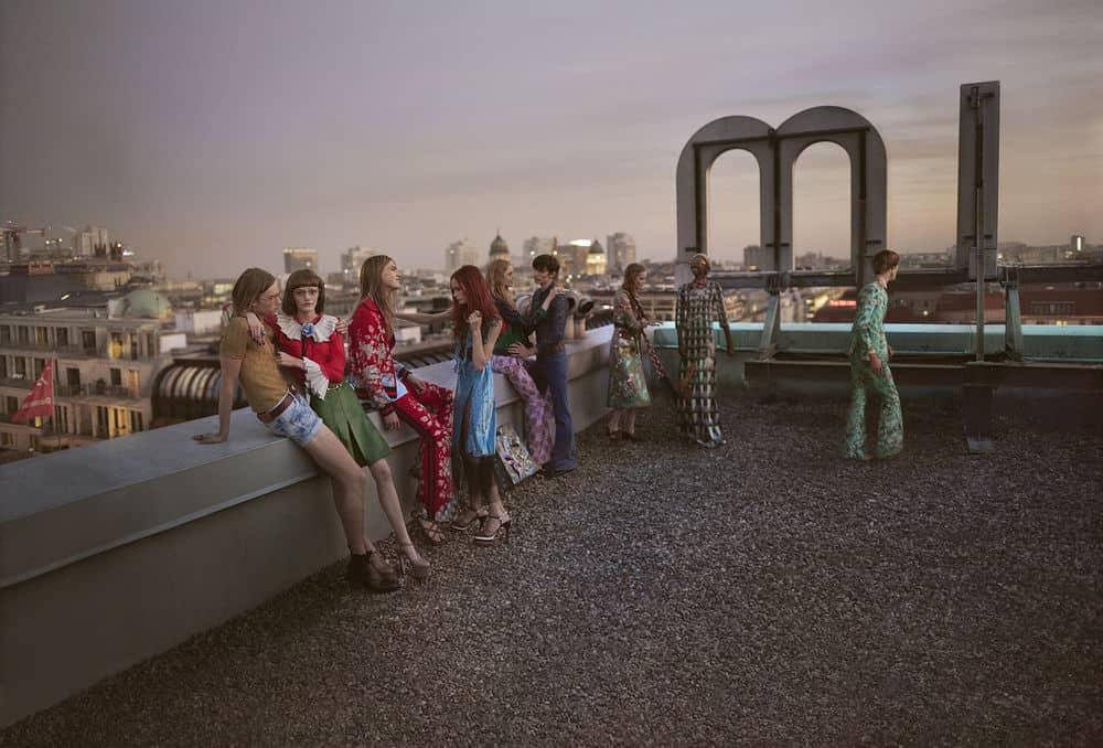 Gucci's SS 2016 campaign / photo: Glen Luchford