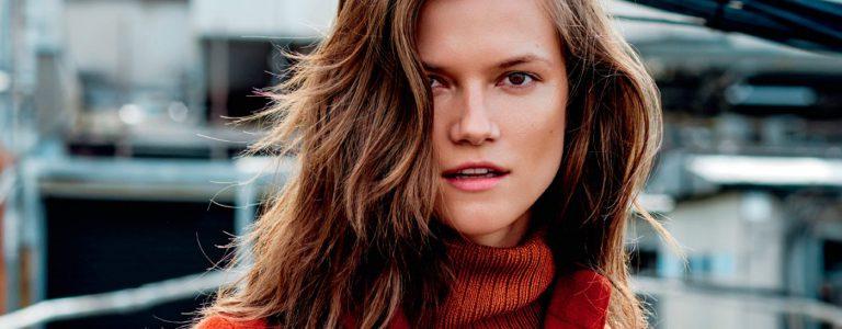 Kasia Struss z Avant Models świętuje swoje 10 lat kariery na łamach Elle Polska