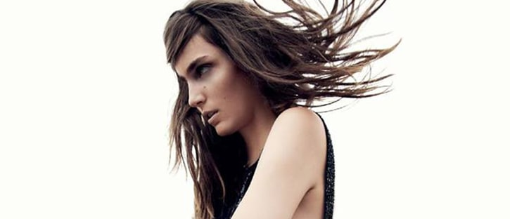 Zuzanna Bijoch dla Harper's Bazaar UK