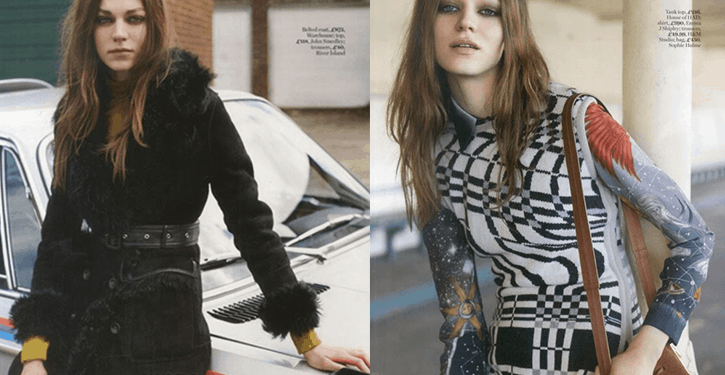 Bree Naumowicz for Marie Claire UK September 2015