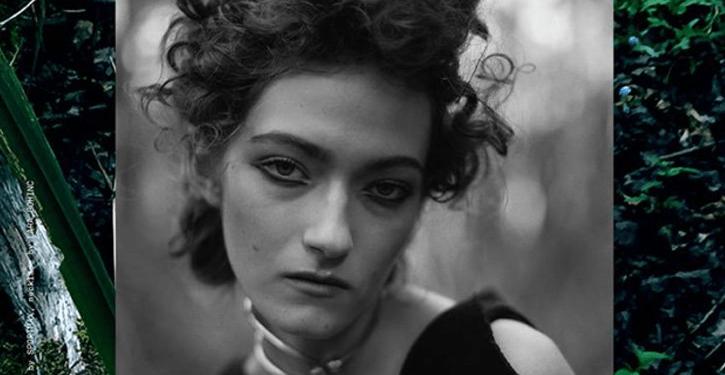 """Le noir"" Kasia Jujeczka for Open Lab Magazine, Winter 2015"