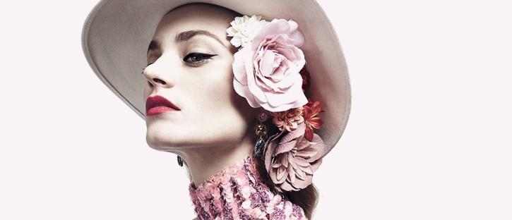 Anna Jagodzińska dla Harper's Bazaar Mexico. Kapelusze rządzą!