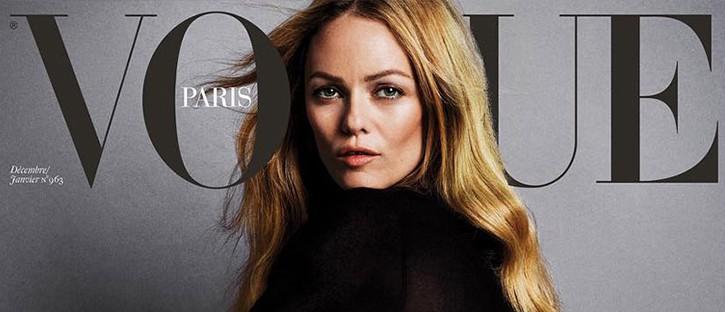 Vogue Paris Christmas 2015 i Vanessa Paradis na okładce oczami trzech fotografów