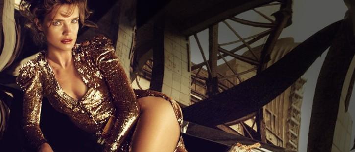 Fashion Inspiration Collage #001: Złoto, Glam i Karnawał