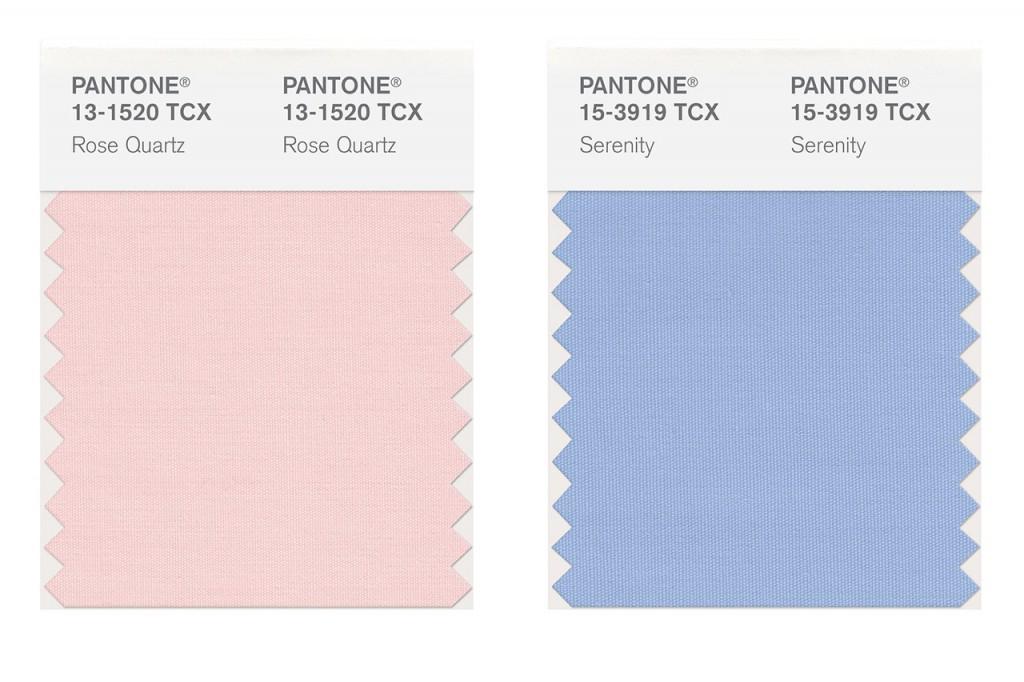 Rose Quartz i Serenity to kolory, które zostały okrzyknięte najbardziej trendy przez Pantone w nadchodzącym wiosenno – letnim sezonie