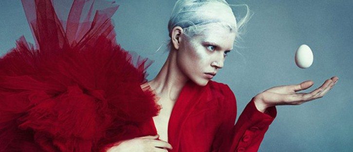 Ola Rudnicka w Vogue Netherlands kwiecień 2014