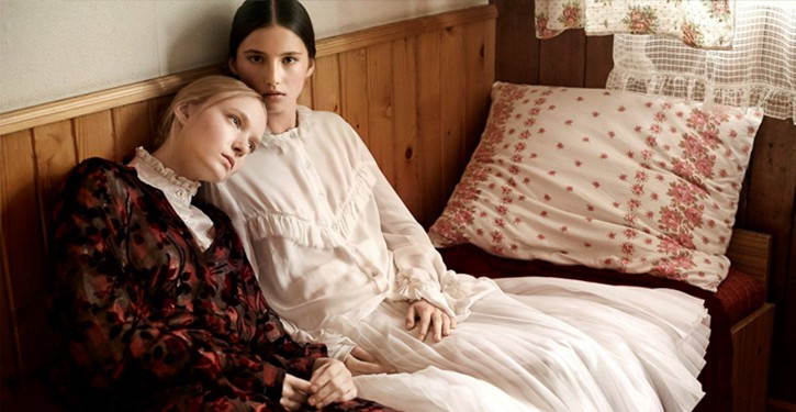 Maja Salamon i Julia Modzelewska Harpers Bazaar Polska luty 2017