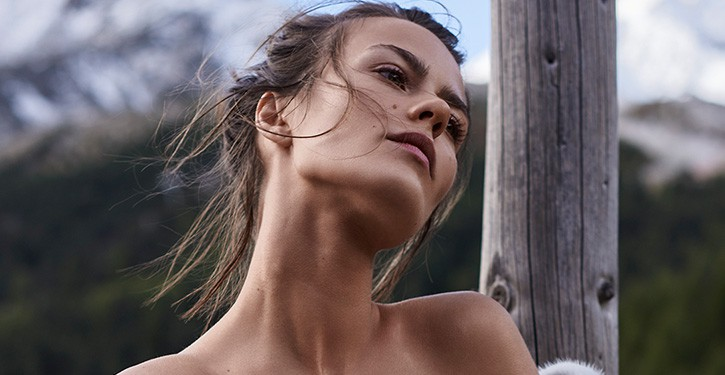 Marta Dyks dla Elle Polska styczeń 2018