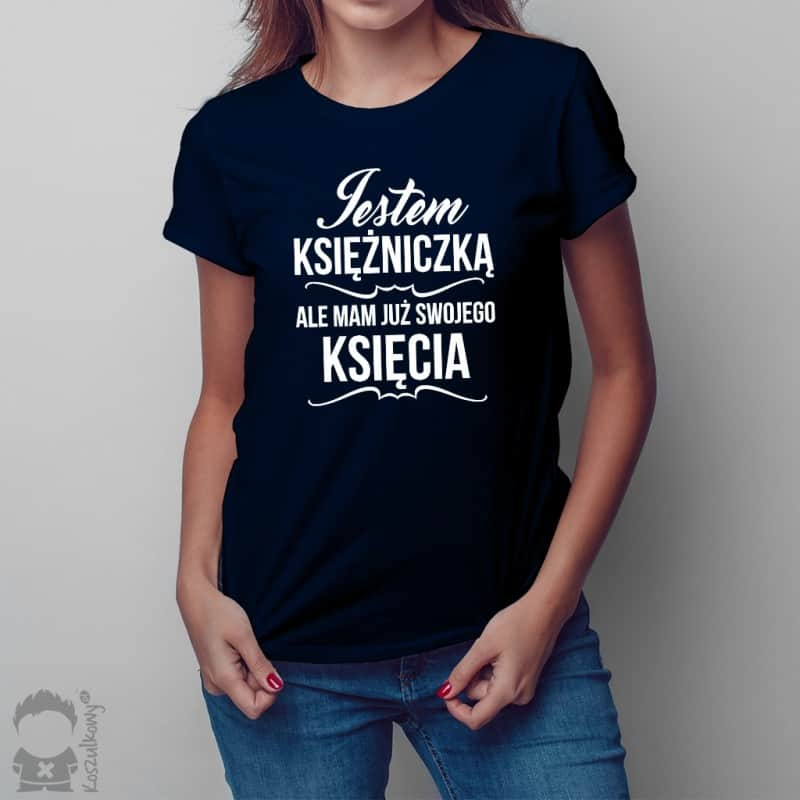 Koszulki damskie z nadrukami